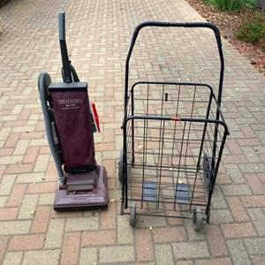 Lot # 305 - Vacuum and a handcart