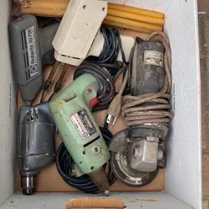 Lot # 309 - Vintage power tools