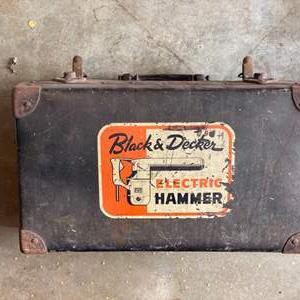 Lot # 312 - Vintage Black & Decker electric hammer