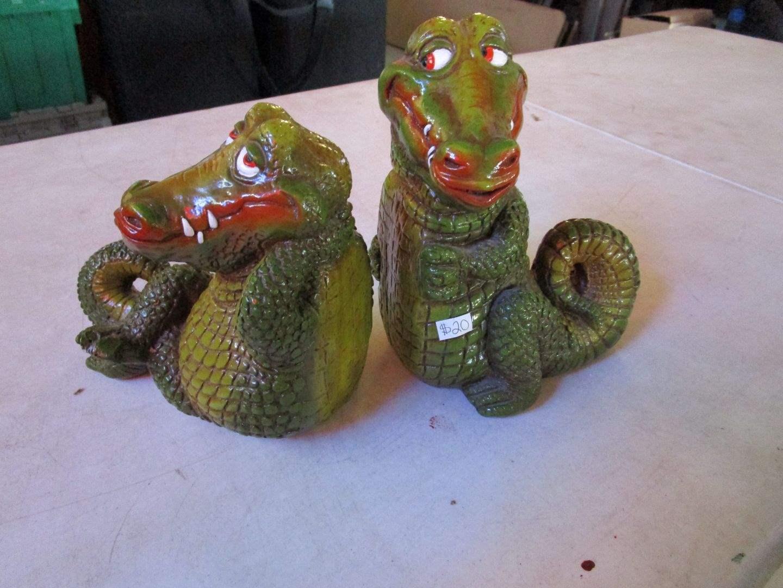 Lot # 58 - Vintage Alligators (main image)