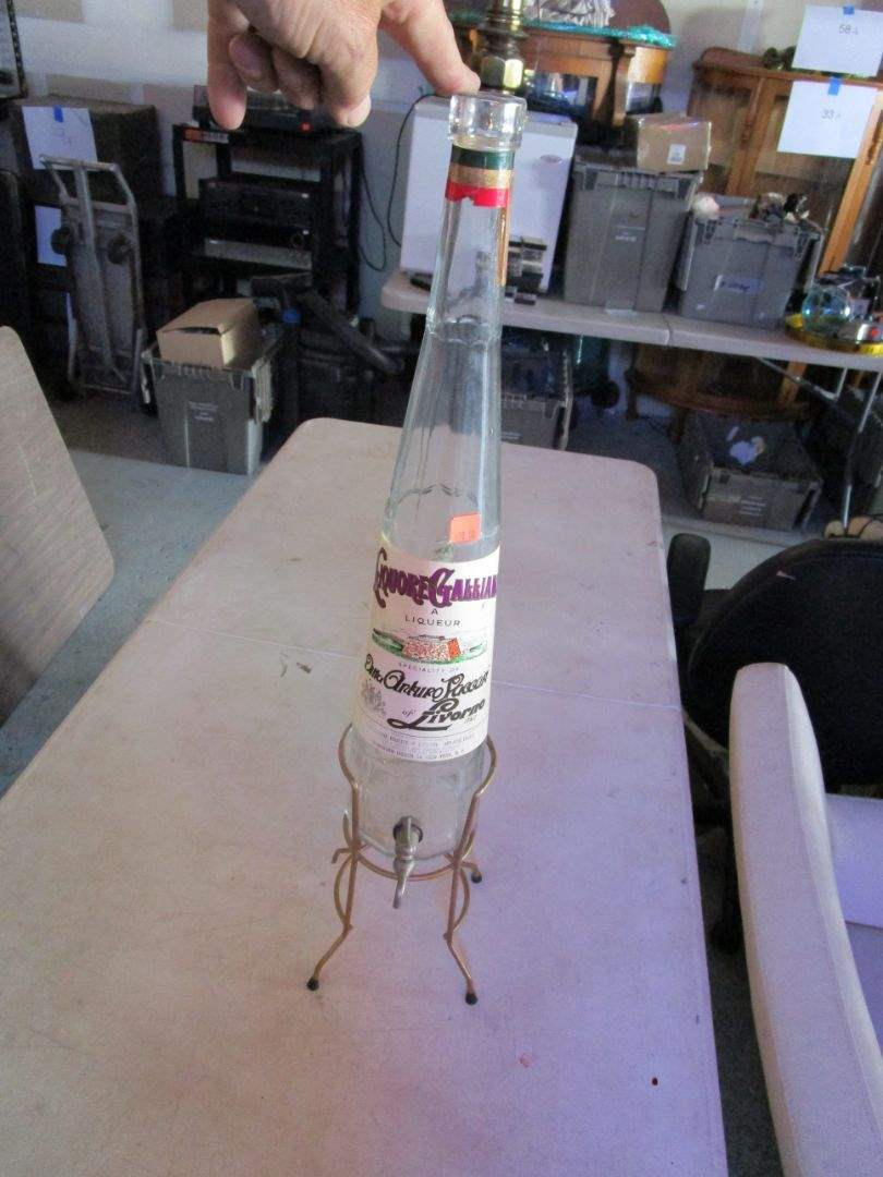 Lot # 78 - GIANT Liquor Bottle (main image)