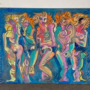 Lot # 5 - 1998 Klopfer original painting on board 20x24