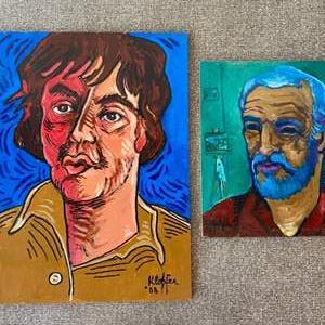 Lot # 13 - Klopfer original paintings on board