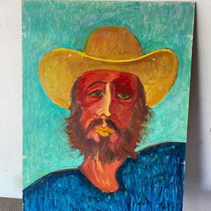 Lot # 26 - Klopfer original painting on board 18x24