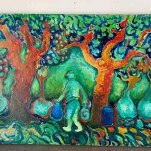 Lot # 49 - Klopfer original painting on canvas 30x22
