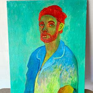 Lot # 50 - Klopfer original painting on canvas 24x30
