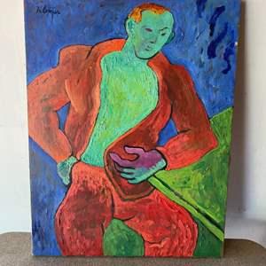 Lot # 53 - Klopfer original painting on canvas 28x22