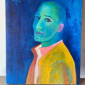 Lot # 56 - Klopfer original painting on canvas 24x20