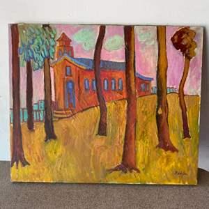 Lot # 59 - Klopfer original painting on canvas 20x24