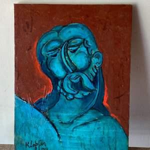 Lot # 63 - 1999 Klopfer original painting on canvas 16x11