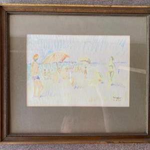 Lot # 88 - 1977 Klopfer original sketch