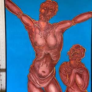 Lot # 106 - 1999 Klopfer original painting on canvas 41x35