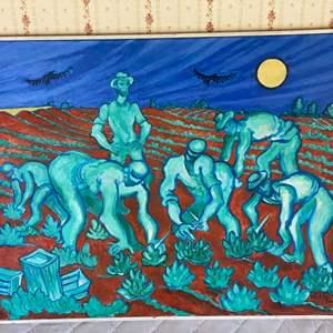 Lot # 112 - 1994 Klopfer original painting on canvas 25x31
