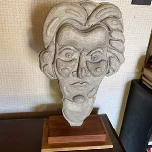 Lot # 148 - Klopfer carved wood sculpture