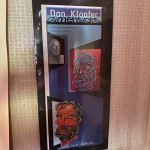 Lot # 151 - 1997 Don Klopfer Dimensions Gallery poster
