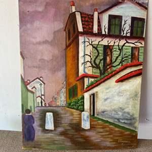 Lot # 155 - Aus Campbell original painting