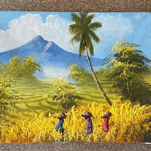Lot # 158 - Original painting from Bali