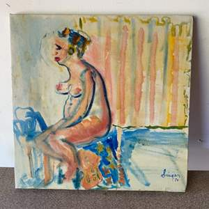 Lot # 164 - 1970 Original painting by Singer
