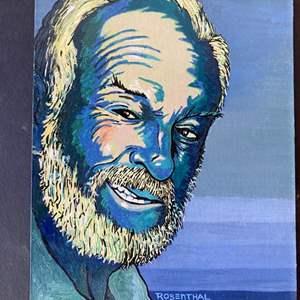 Lot # 172 - Joe Rosenthal (1923-2018) Original art plus a print of it