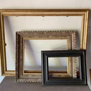 Lot # 176 - Three vintage frames