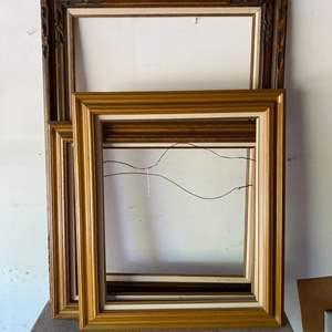 Lot # 177 - Three vintage frames