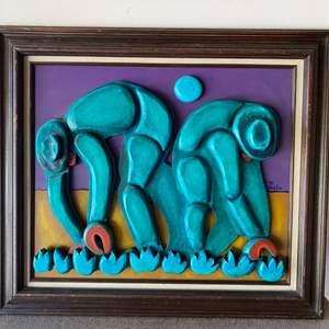 Lot # 179 - 1997 Klopfer original three dimensional art
