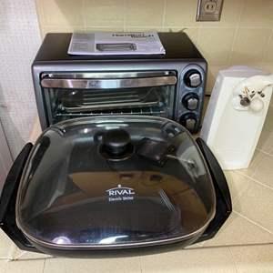Lot # 190 - Three kitchen appliances