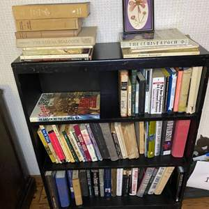 Lot # 203 - Bookshelf with contents