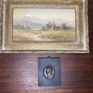 Lot # 205 - Original painting and wall art
