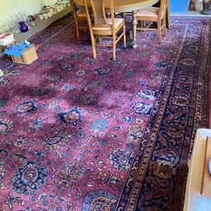 "Lot # 207 - Beautiful vintage Persian rug 10'10"" x 17'"