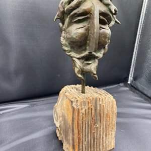 Lot # 215 - Klopfer Bronze Jesus bust