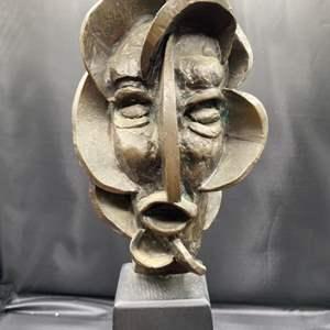 Lot # 216 - 1972 Klopfer bronze bust