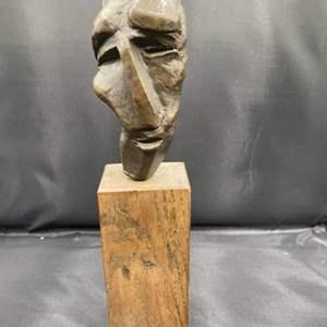 Lot # 217 - 1972 Klopfer bronze bust
