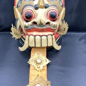 Lot # 220 - Vintage Indonesian mask