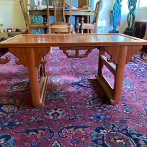 Lot # 228 - Mid century Asian coffee table
