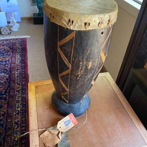 Lot # 230 - African Djembe drum