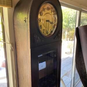Lot # 236 - Antique grandfather clock