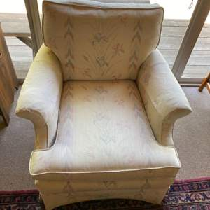 Lot # 238 - Chair with extra fabric