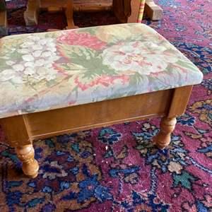 Lot # 245 - Vintage footstool