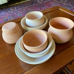 Lot # 249 - Klopfer bisque fired pottery