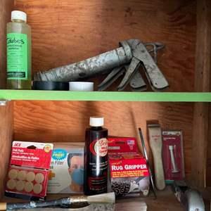 Lot # 274 - Garage supplies