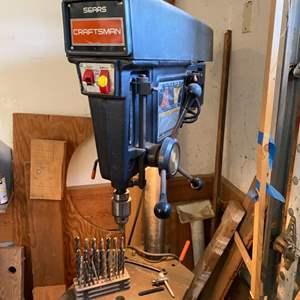 Lot # 2 - Craftsman drill press