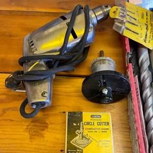 Lot # 15 - Many, many drill bits and drill