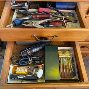 Lot # 24 - Two drawers FULL of tools
