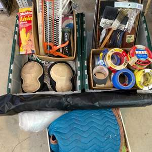 Lot # 43 - Painting supplies and tools