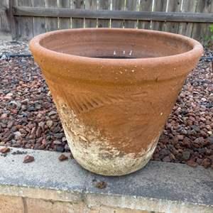 Lot # 78 - Two big terra-cotta pots