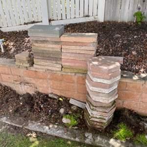 Lot # 86 - 38 Concrete pavers