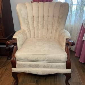 Lot # 105 - Arm chair (1 of 2)