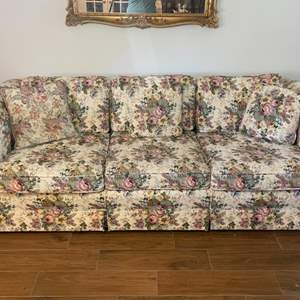 Lot # 111 - Tapestry Couch