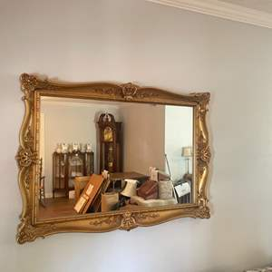 Lot # 112 -Wall mirror